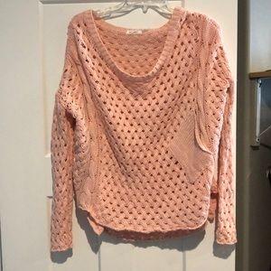 Blu pepper light pink sweater